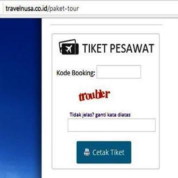 TRAVELNUSA MOBILE TRAVEL screenshot 1