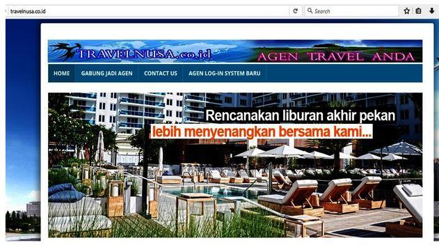 TRAVELNUSA MOBILE TRAVEL screenshot 4
