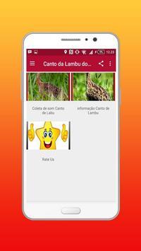 Canto da Lambu do Sertão apk screenshot