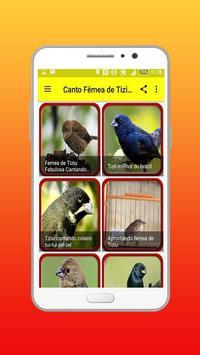 Canto Fêmea De Tiziu Offline screenshot 1