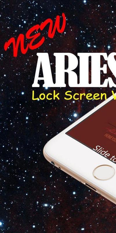 Aries Screen Lock Wallpaper Screenshot 9
