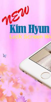 Kim Hyun Joong Screen Lock Wallpaper poster