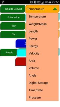 GenCon Unit Converter screenshot 3