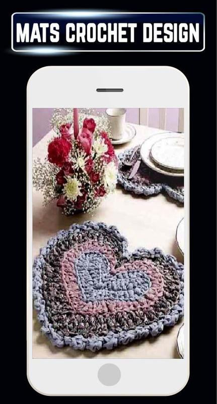 Diy Crochet Rugs Mats Patterns Home Craft Designs For Android Apk