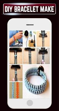 DIY Bracelet Friendship Belt making Ideas Designs apk screenshot