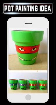 DIY Pot Painting Project Ideas Designs Home Crafts apk screenshot