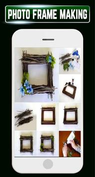 DIY Photo Frames Making Recycled Home Craft Ideas screenshot 1