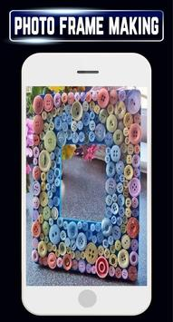 DIY Photo Frames Making Recycled Home Craft Ideas screenshot 3