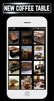 Modern Coffee Table Home Designs Craft Ideas DIY poster