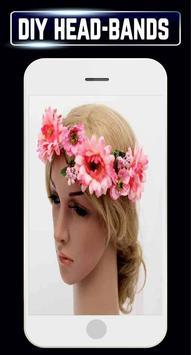 DIY Headbands Flower Wedding Baby Home Idea Design screenshot 1
