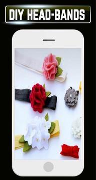 DIY Headbands Flower Wedding Baby Home Idea Design screenshot 5