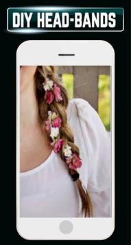 DIY Headbands Flower Wedding Baby Home Idea Design apk screenshot