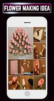DIY Paper Flower Making Quilling Home Crafts Ideas screenshot 4