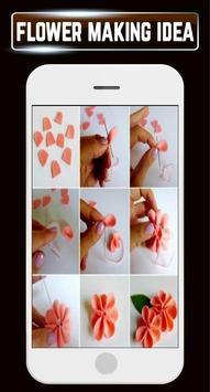 DIY Paper Flower Making Quilling Home Crafts Ideas screenshot 5