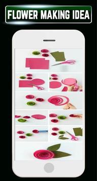 DIY Paper Flower Making Quilling Home Crafts Ideas screenshot 7