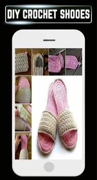DIY Crochet Shoes Baby Booties ladies Slipper Home screenshot 5