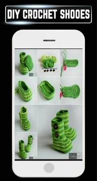 DIY Crochet Shoes Baby Booties ladies Slipper Home screenshot 7