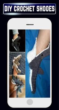 DIY Crochet Shoes Baby Booties ladies Slipper Home screenshot 2