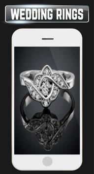 Wedding Rings Set Couple Engagement Gold Jewellery screenshot 1