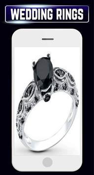 Wedding Rings Set Couple Engagement Gold Jewellery screenshot 2