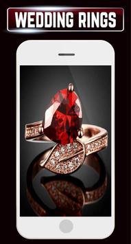 Wedding Rings Set Couple Engagement Gold Jewellery screenshot 3