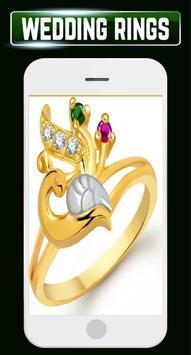 Wedding Rings Set Couple Engagement Gold Jewellery screenshot 5