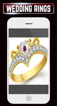 Wedding Rings Set Couple Engagement Gold Jewellery screenshot 6