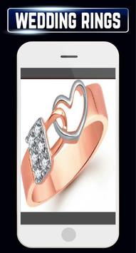 Wedding Rings Set Couple Engagement Gold Jewellery screenshot 7