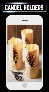 DIY Candle Holder Making Home Ideas Design Gallery apk screenshot