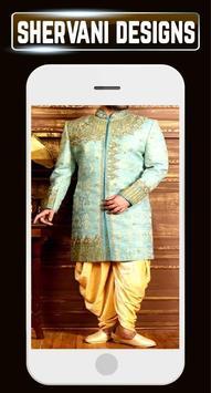 Groom Sherwani Designs Men's Wedding Suits Indain screenshot 1