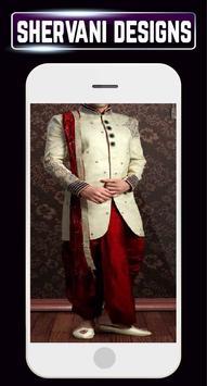 Groom Sherwani Designs Men's Wedding Suits Indain screenshot 7