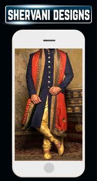 Groom Sherwani Designs Men's Wedding Suits Indain screenshot 4
