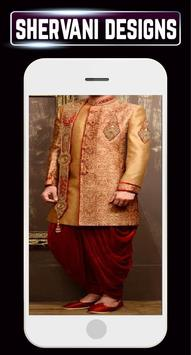 Groom Sherwani Designs Men's Wedding Suits Indain screenshot 5