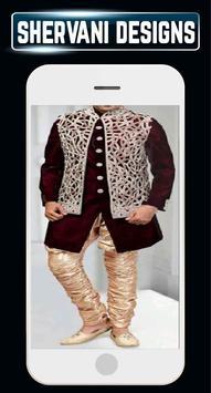 Groom Sherwani Designs Men's Wedding Suits Indain screenshot 6