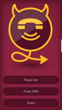 Prank Call & SMS poster