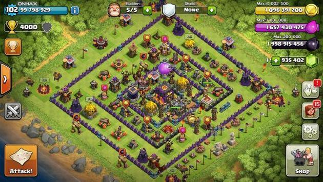 clash of clans hack version download for free