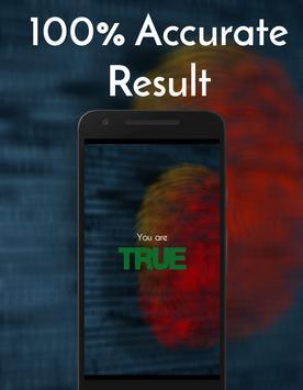 Fingure Lie Detector Prank poster
