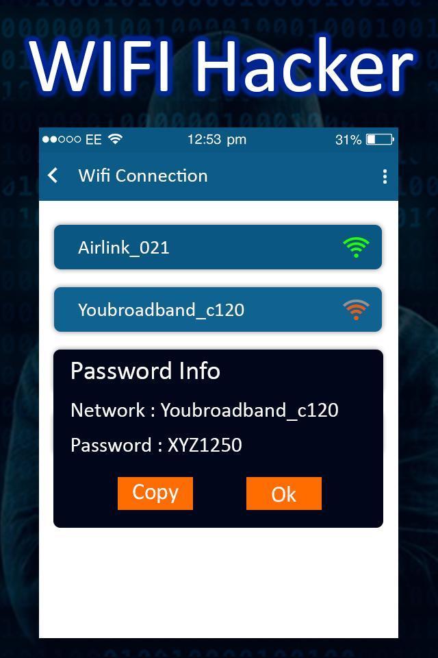 WiFi Password Hacker Simulator : Hack WiFi Prank for Android - APK