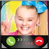 Instant Video Call Jojo/Siwa : Simulation 2018 icon