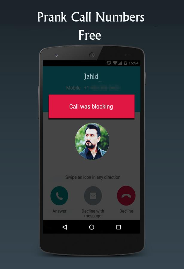 Prank call numbers for Android - APK Download