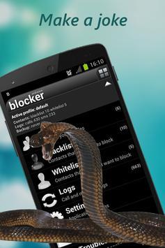 Snake on Mobile Screen Prank screenshot 4