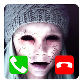 Creepy Dolls Fake Call icon