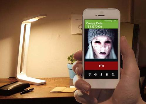 Creepy Dolls Fake Call poster