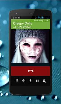 Creepy Dolls Fake Call screenshot 2