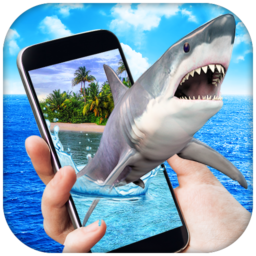 Shark in Phone Prank