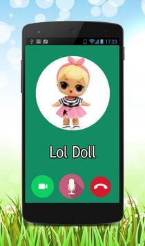 Fake Call Lol Doll Prank poster