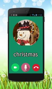 Fake call christmas prank poster