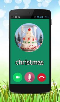 Fake call christmas prank screenshot 1