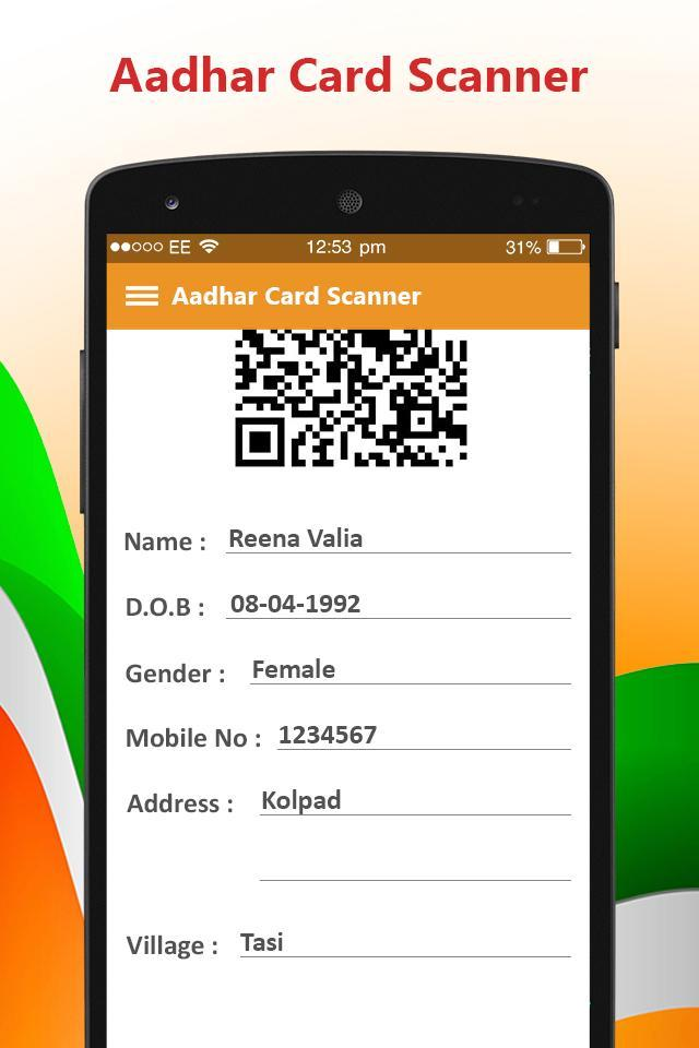 Aadhar Card Scanner : Aadhar Online Guide for Android - APK Download