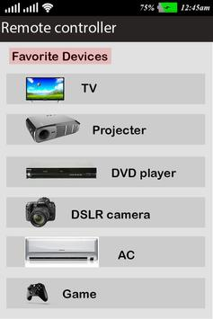 Universal Remote Control for All : Smart Remote poster